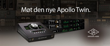 Universal Audio lanserer Apollo Twin Mk2