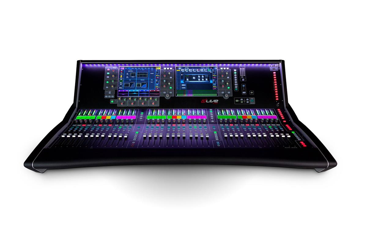 "A&H dLive S7000 Surface - 36 faders, dual 12"" screens"
