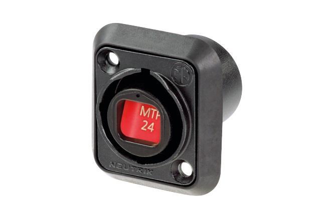 Neutrik OpticalCON MTP24 Chassis
