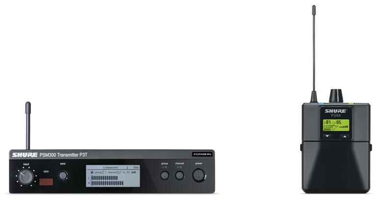 Shure PSM300 Premium Wireless Monitor System(518-542MHz)