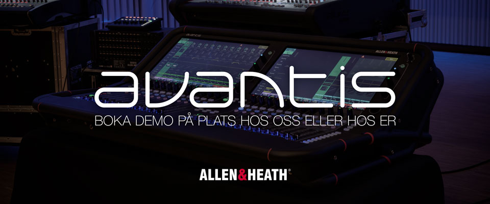 BOKA DEMO AV ALLEN & HEATH AVANTIS