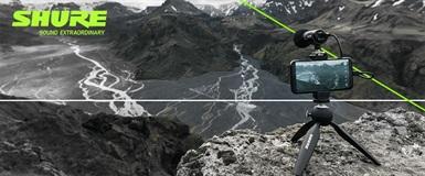 Shure lanserer MV88+ - En ny mobil-rigg for skapere