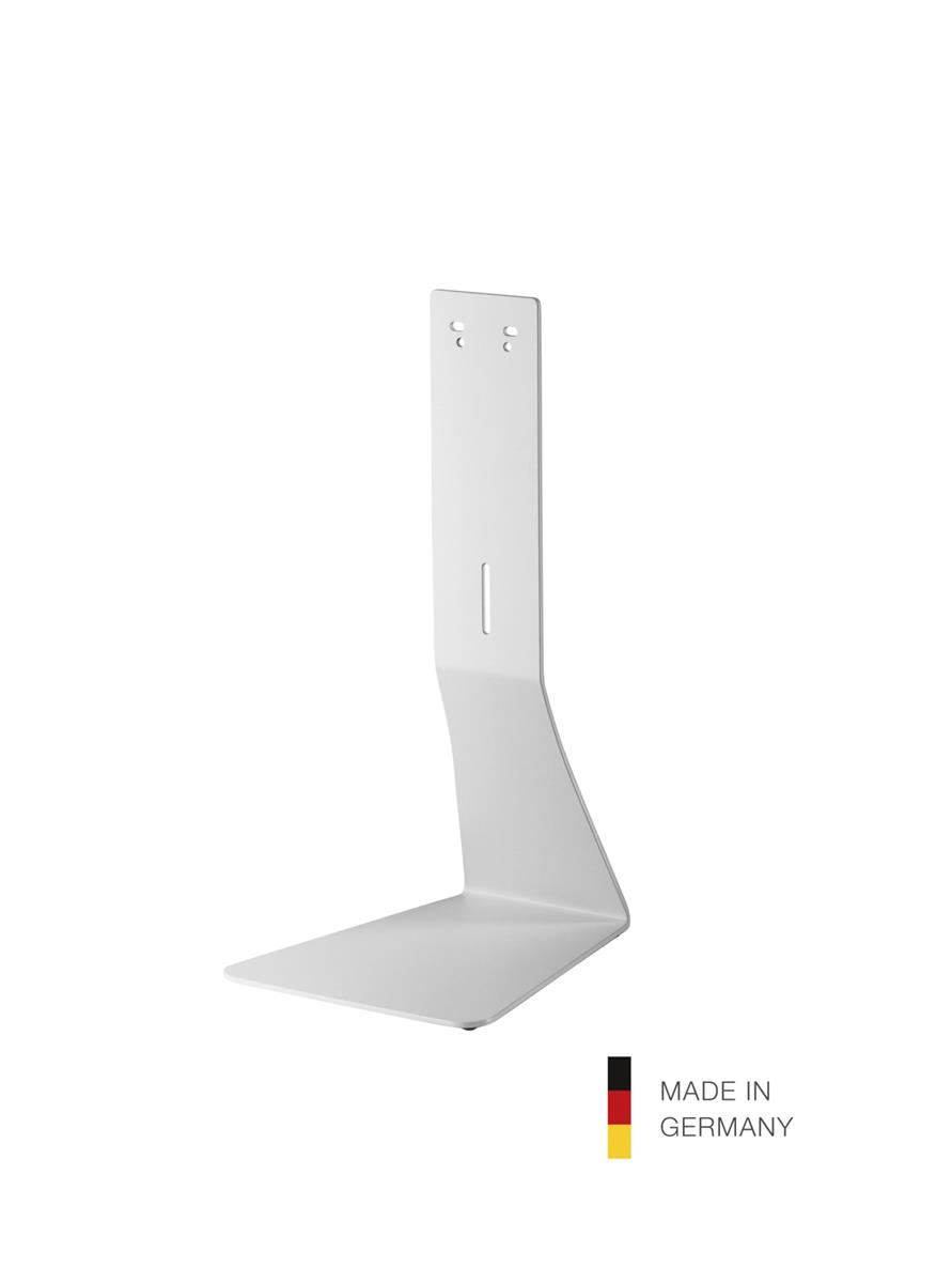 K&M 80360 Table stand for disinfectant dispensers, white