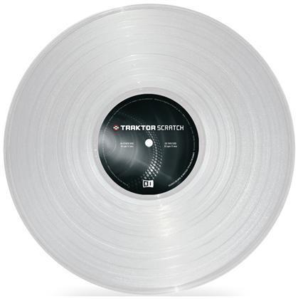 Native Traktor Scratch Pro Control Vinyl Clear MK2