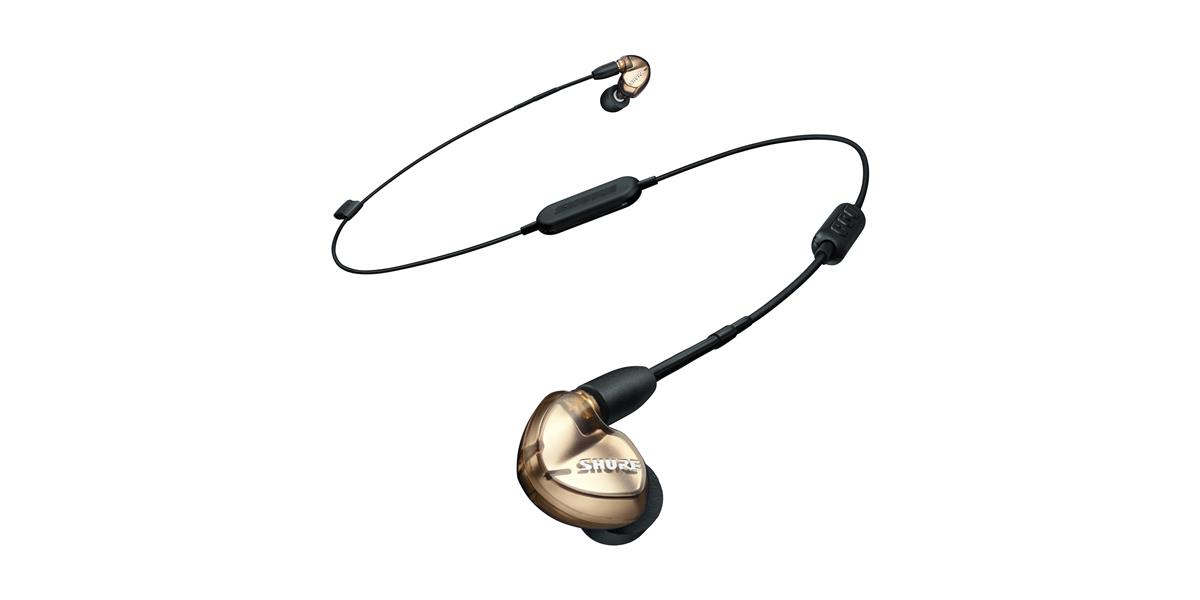 Shure SE535 Earphones (w/RMCE-UNI and RMCE-BT1), Bronze