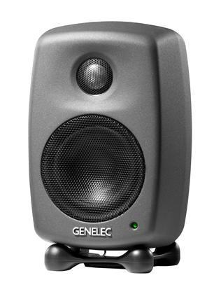 Genelec 8010APM Aktiv mon, 3 LF .75 HF, 25+25W, antrasit
