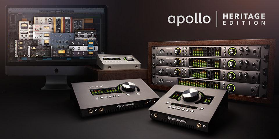 Innholdsrike plug-in bundles når du kjøper UA Apollo