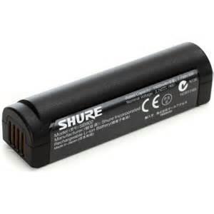 Shure LI-ION rechargeable battery for MXW2 og GLXD