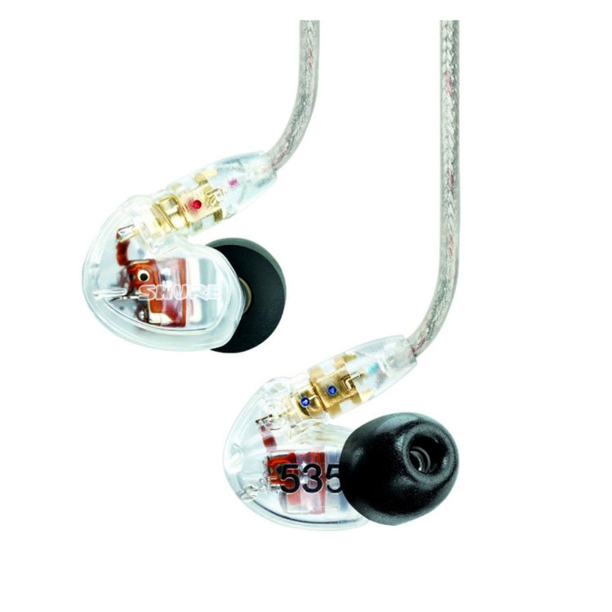 Shure SE215 Earphones EAC64 - CLEAR