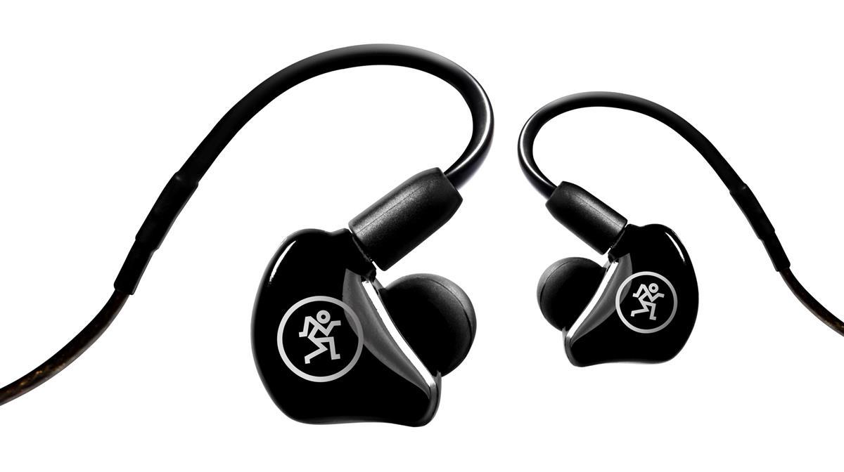 Mackie MP-240 In-Ear Monitors, black