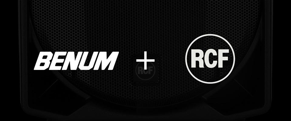 Benum blir ny eksklusiv distributør av RCF