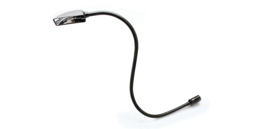 Hosa svanehalslampe for mikser, 3p XLR-kontakt, 15