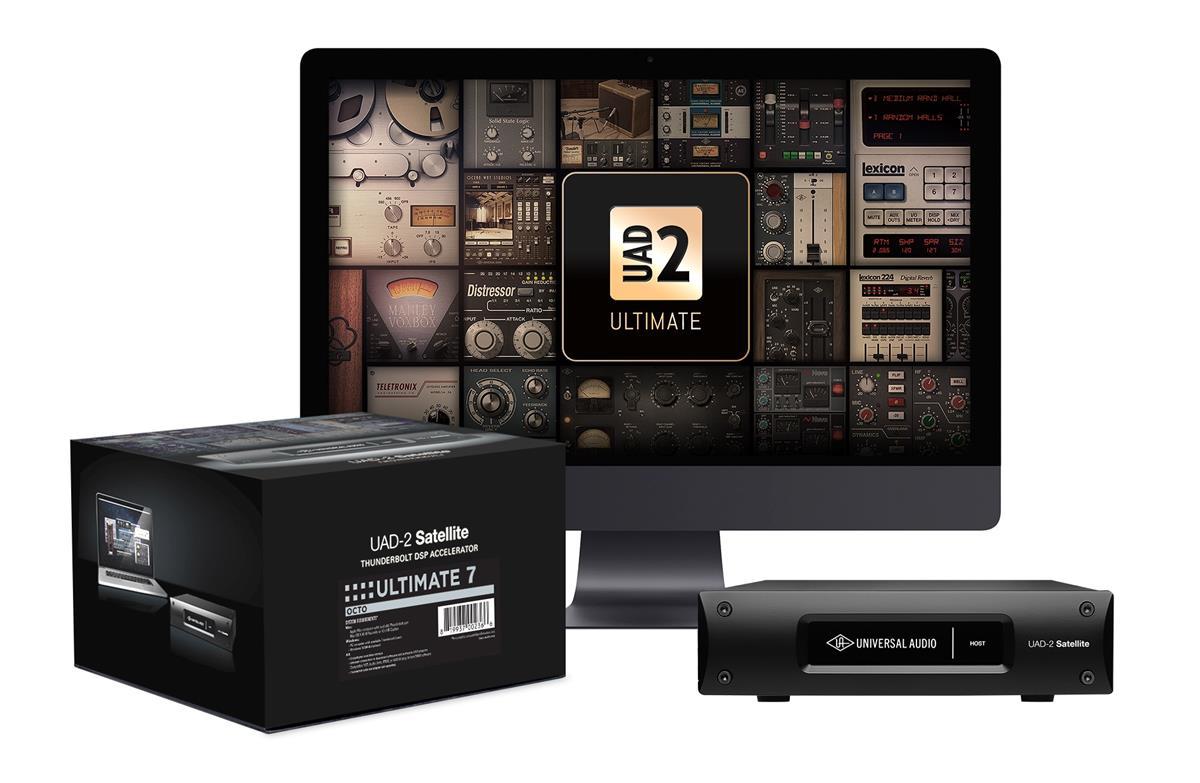 Universal Audio UAD-2 Octo Ultimate 7, 99 plugins inkl, TB2