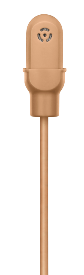 Shure DuraPlex DL4B Lav Mic Omni LEMO Cocoa