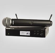 Shure BLX24R vokal system med SM58 Rack Mount (S 8)