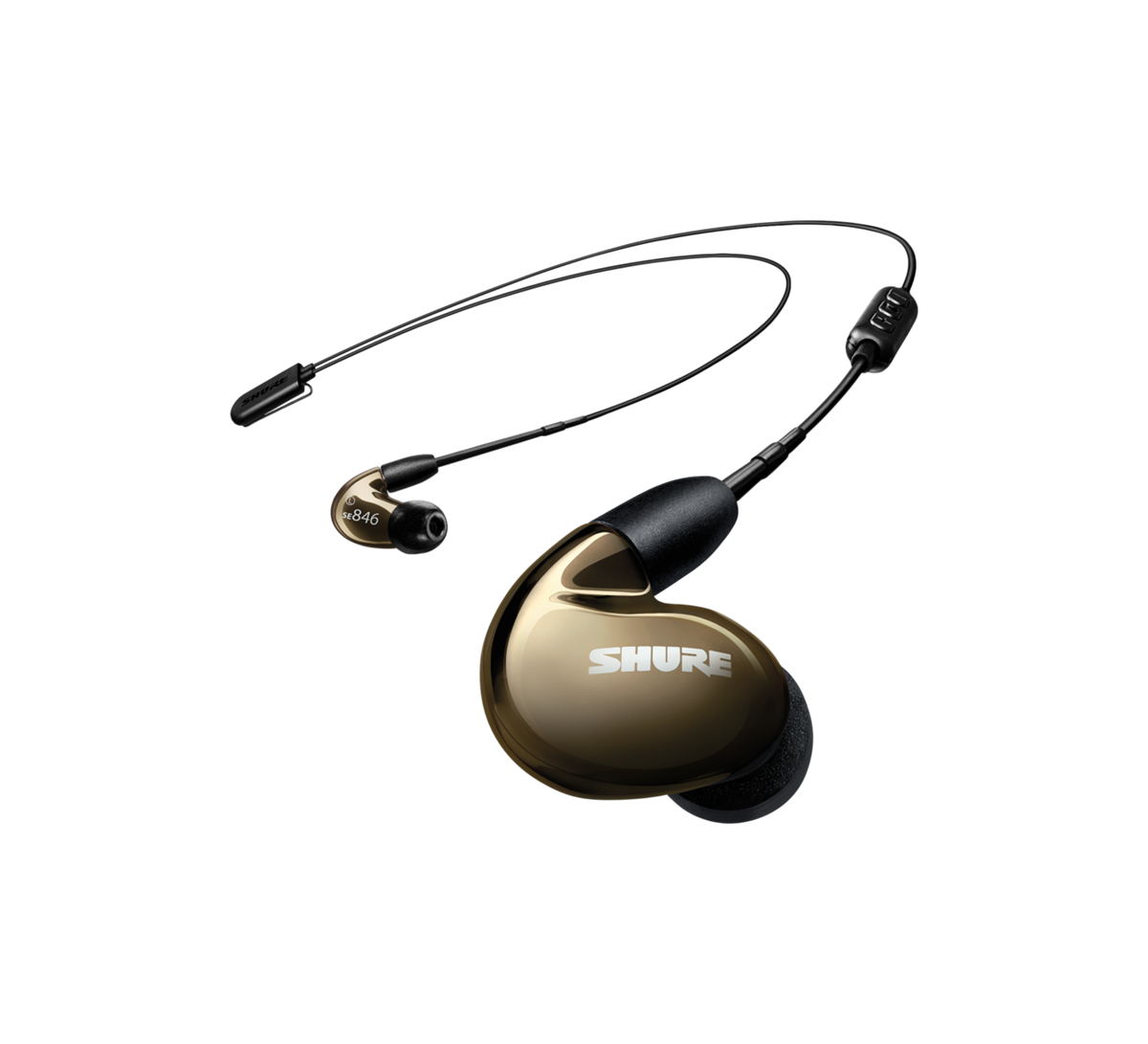 Shure SE846 earphone UNI+RMCE-BT2 Bluetooth BRONZE