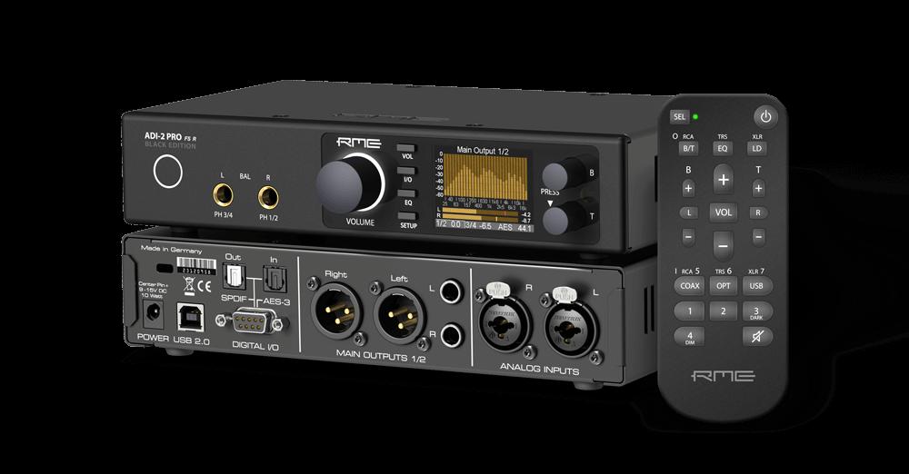 RME AD/DA and Headphone amp, 768kHz