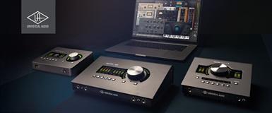 Gratis UAD plug-ins med desktop-lydkort fra UA