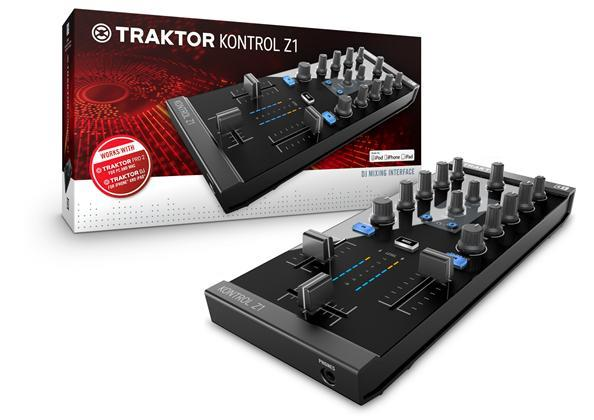 Native Traktor Kontrol Z1 DJ-mixer interface (22180)