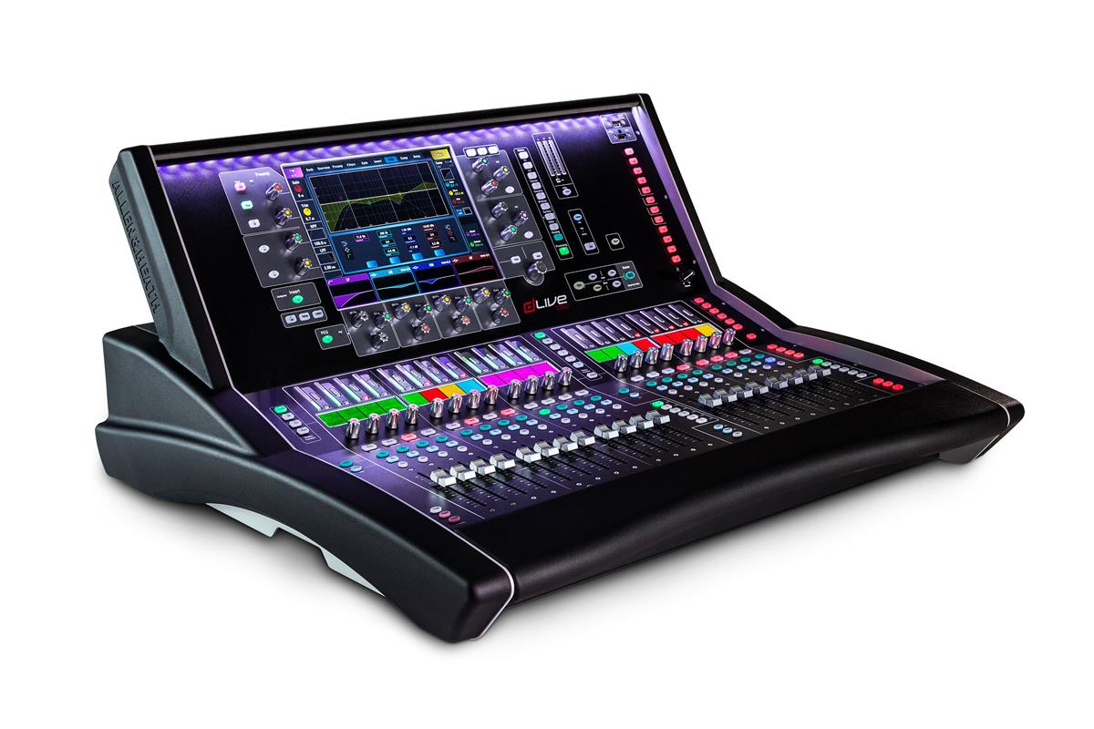 "A&H dLive S3000 Surface - 20 faders, single 12"" screen"