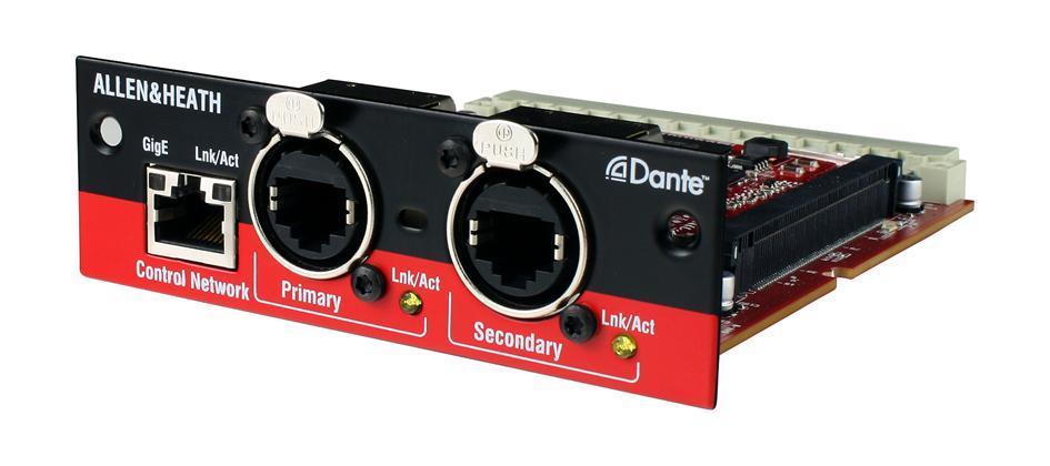 A&H Dante Card 64x64, 48kHz