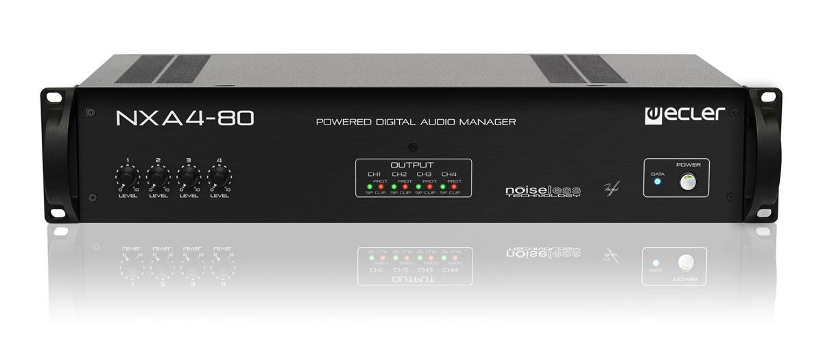 Ecler NXA4-80 4 x 80W eNET powered manager