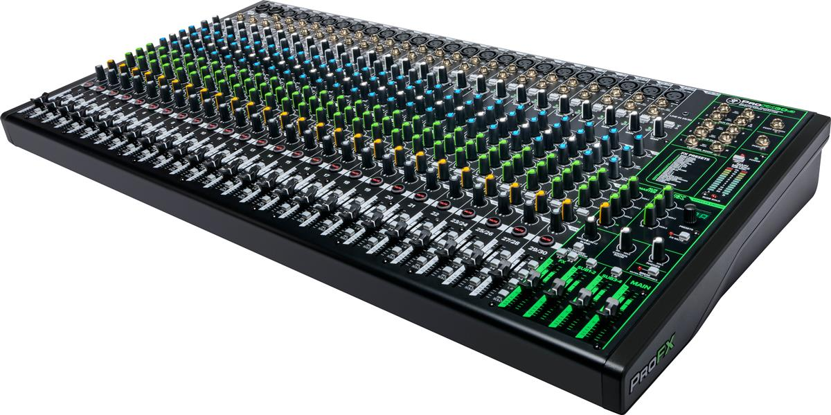 Mackie 30 Channel 4-bus Professional Effects Mixer with USB
