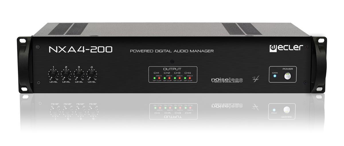 Ecler NXA4-200 4 x 200W eNET powered manager