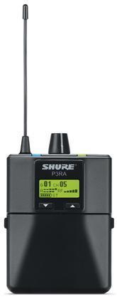 Shure P3RA Bodypack Receiver Premium K3E (606-630MHz)