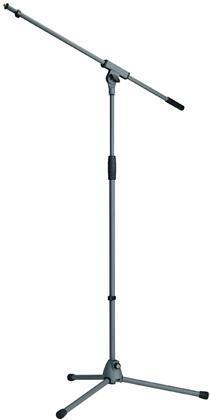 K&M Mikrofonstativ med galge, grå