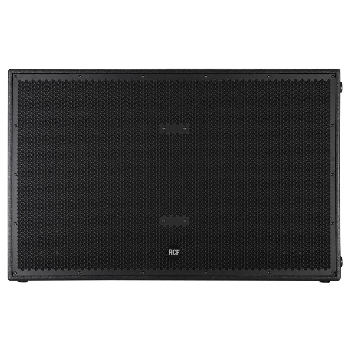 RCF Double 18in Bass Reflex Active Subwoofer, 2500Wrms, 5000