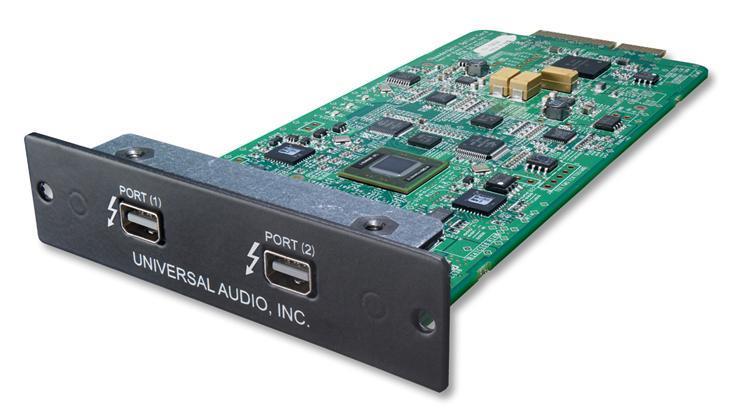 Universal Audio Apollo Thunderbolt opsjonskort