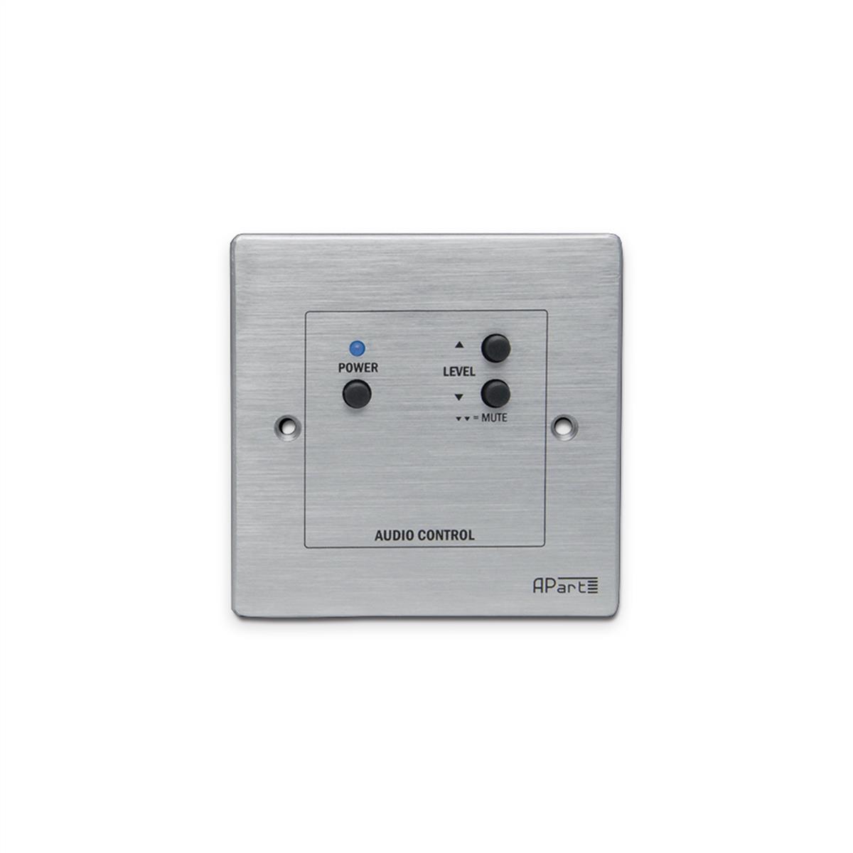Apart audio kontrol panel med volume kontrol og power switch