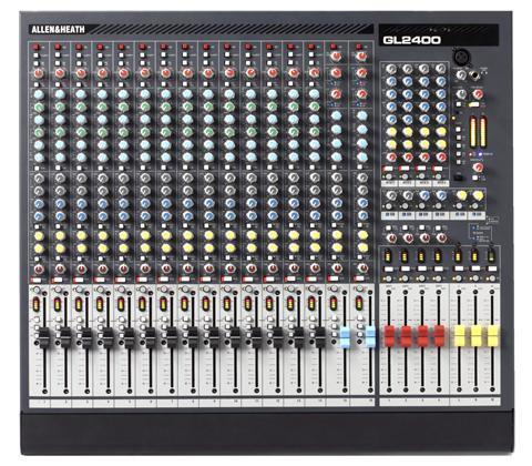 A&H GL2400-16  4 Buss 14 Mono 2 Stereo Input Ch Live Console