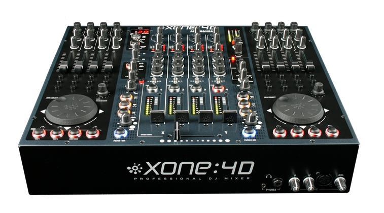 A&H XONE 4D Digital DJ Mixer/Controller Inc 96 kHz/24bit USB