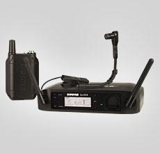 Shure GLXD14 instrument system med Beta98H/C