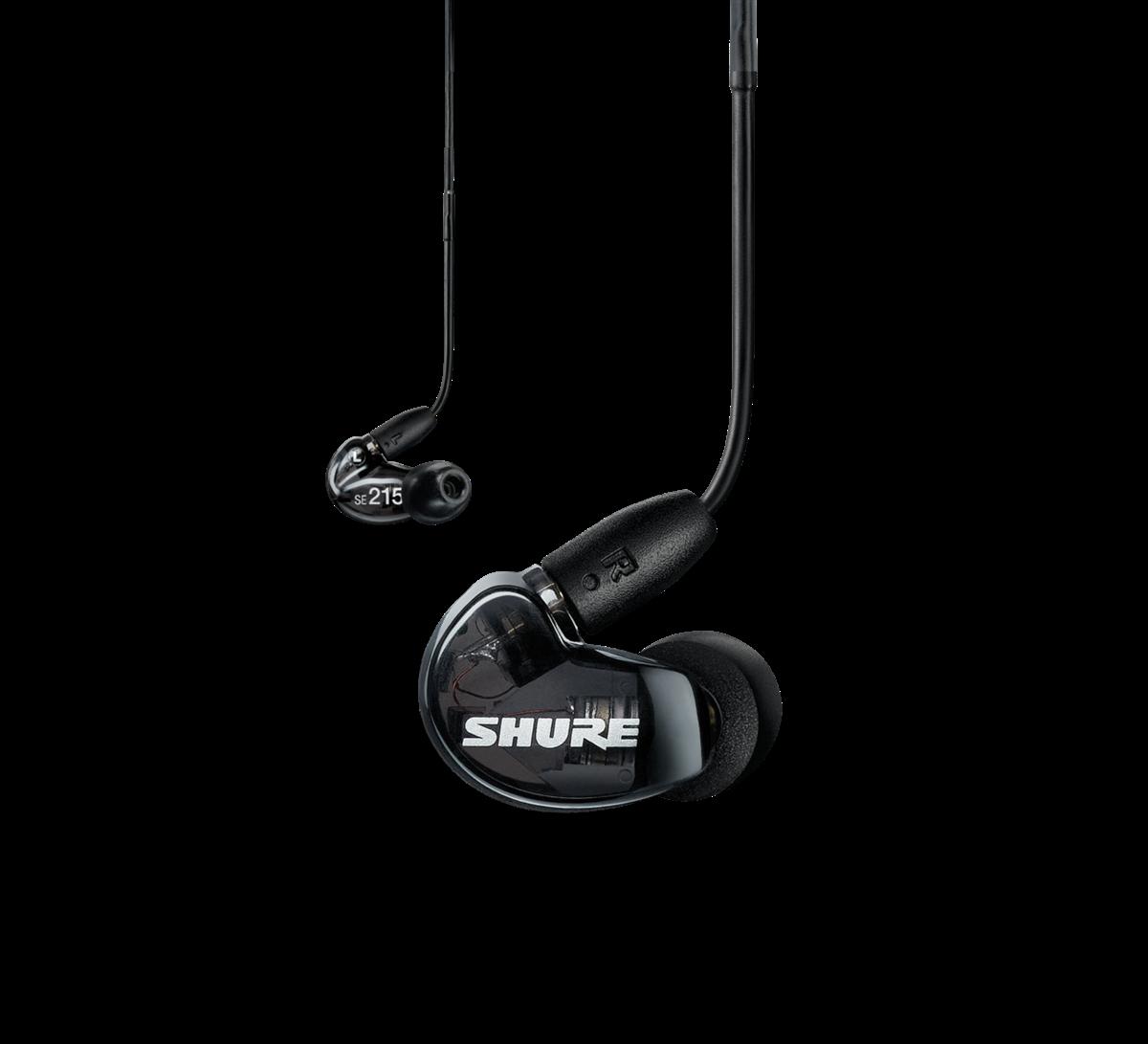 Shure SE215 Earphones RMCE-UNI - BLACK