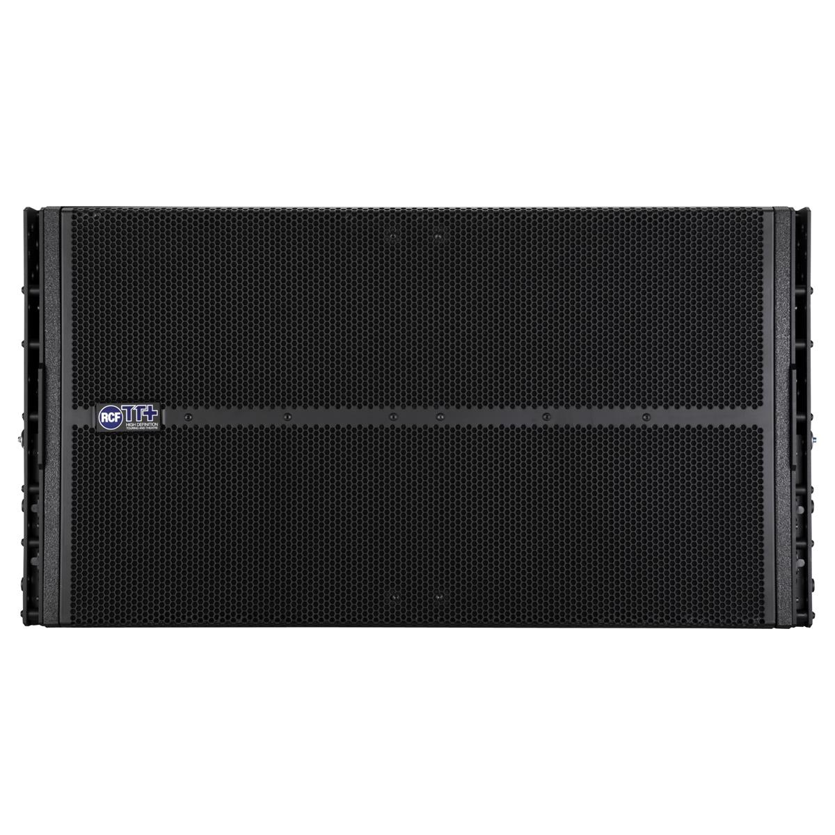 RCF Active line array subwoofer, 2x18in, 4000W, array fittin