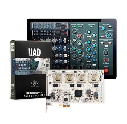 Universal Audio UAD-2 Quad DSP Core card (x4 DSP) PCIe