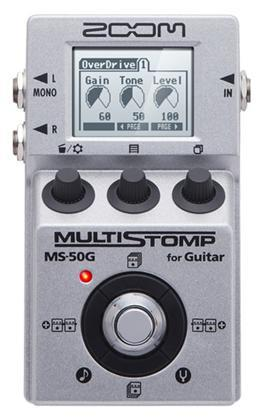 Zoom MS-50G multistomp for gitar