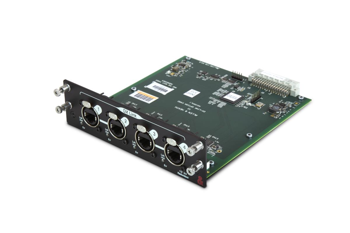 A&H DX Link card,128 in,128 out,4 DX ports