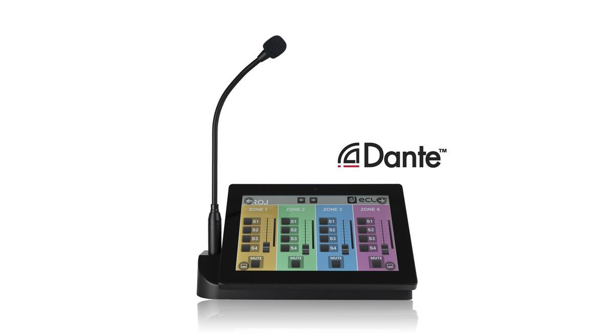 Ecler PAGENETDN EclerNet Dante Paging Stasjon