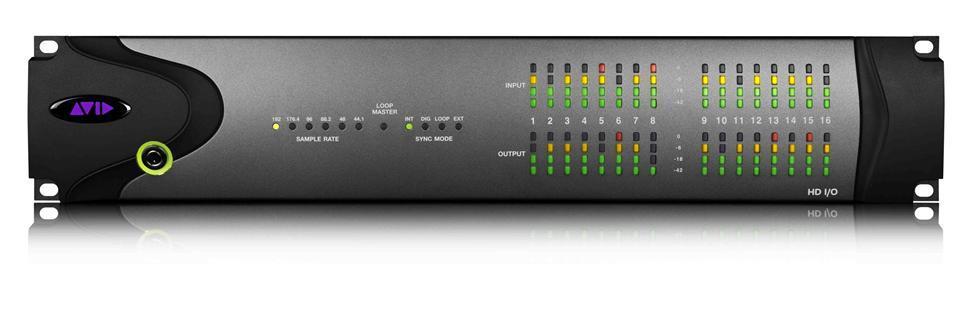 Avid HD I/O 16x16 Analog Interface for ProTools HD