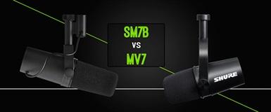 MV7 eller SM7B: Vilken mikrofon passar dig bäst?