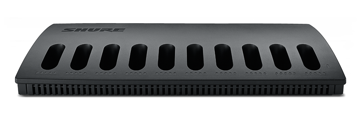 Shure MXCWNCS-E Networked Charging Station, 10 bay, SB930