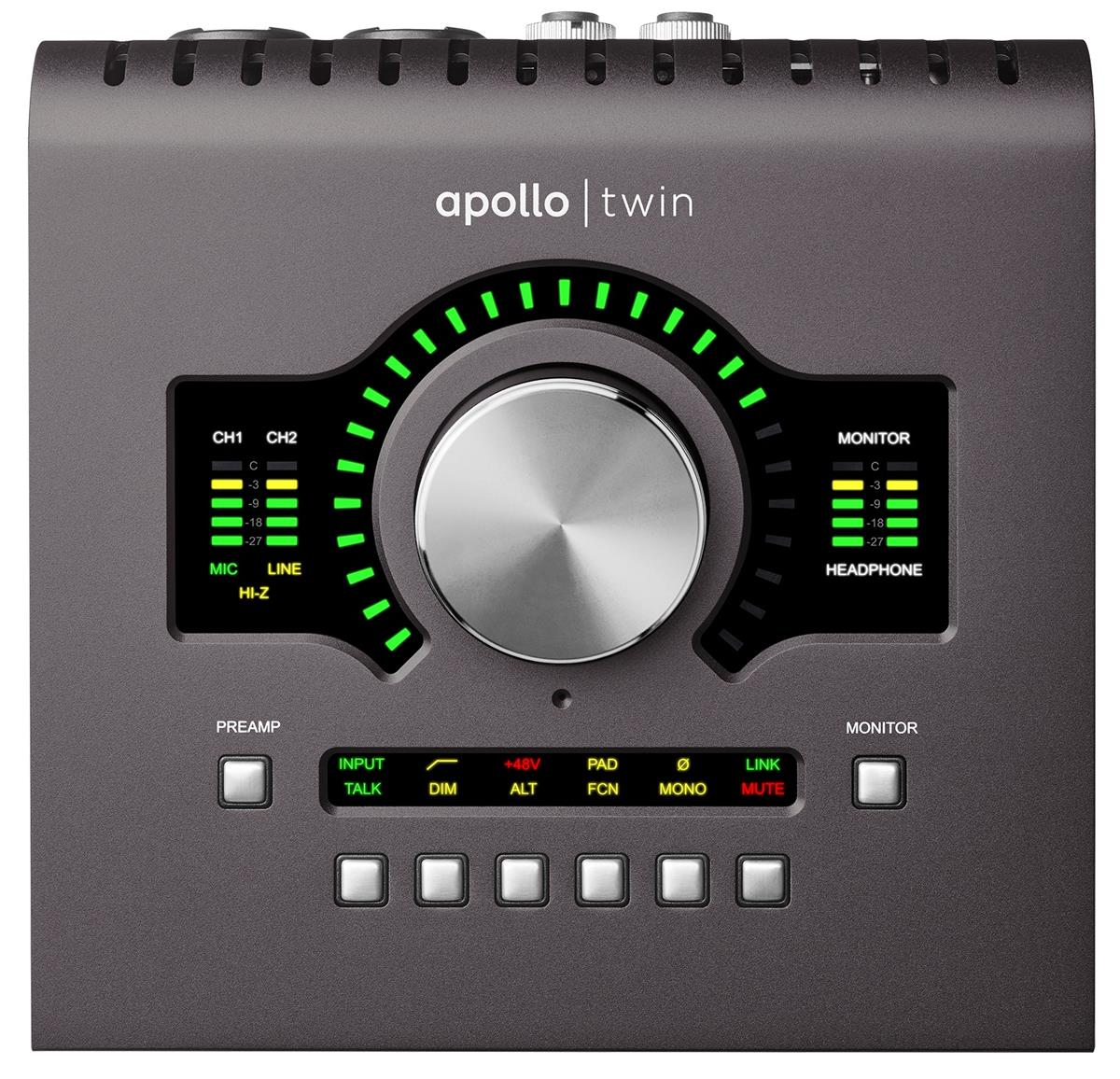 Universal Audio Apollo TWIN Audiointerface, DUO x2 DSP, MK2
