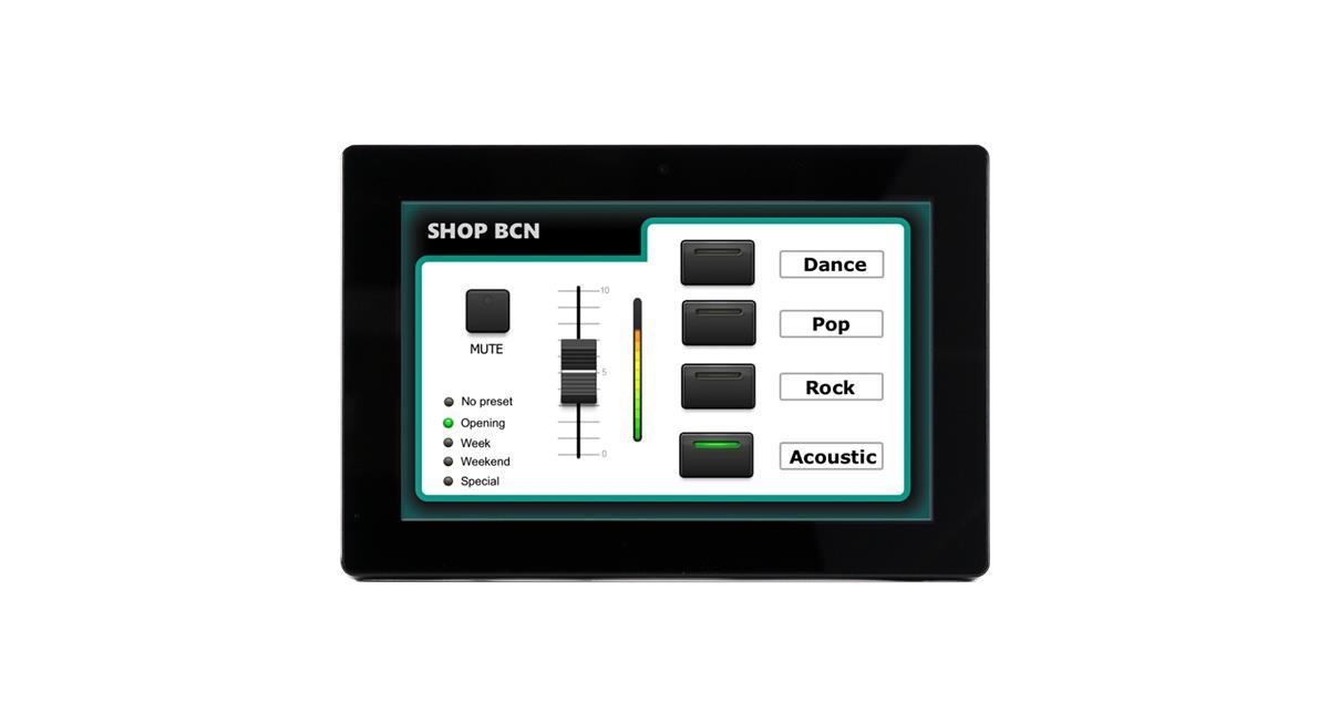 Ecler WPNETTOUCH TFT EclerNet Touchscreen Control