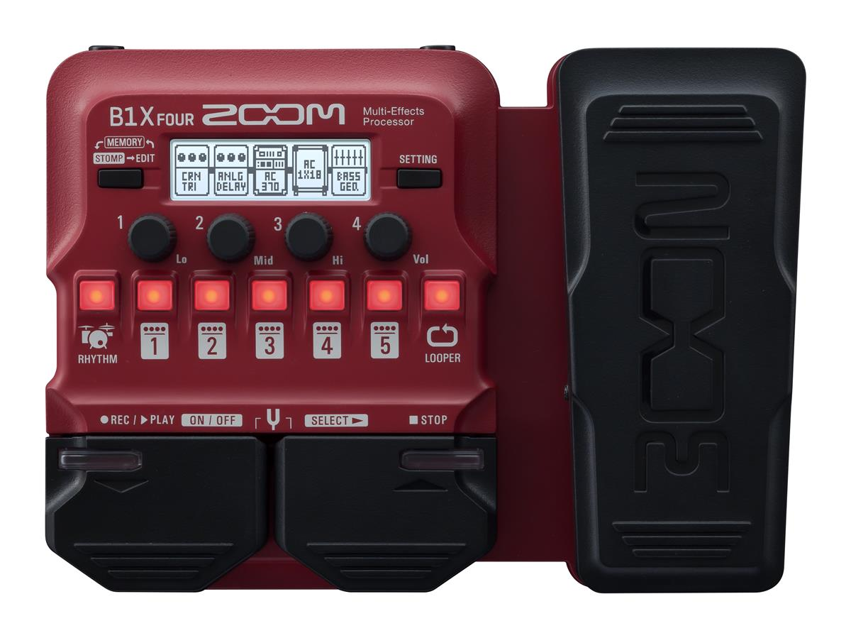 ZOOM Bass Multi-Effects Processor