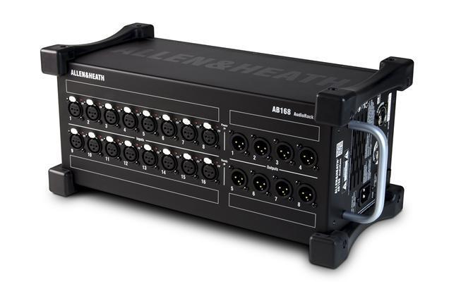 A&H AB1608 Audiorack portable  SQ/QU/GLD 16/8 XLR I/O