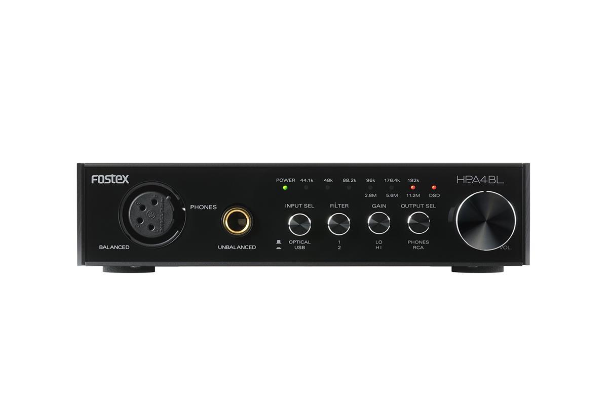 Fostex HP-A4BL High Quality Headphone Amp/DAC Balansert